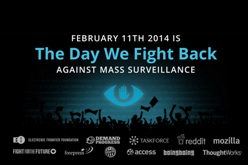 Organizers of The Day We Fight Back invite supporters to embed banners on their website, spread the word via social media, and to speak out online about privacy, security, safety and surveillance.