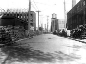 old photo of Liberty Village