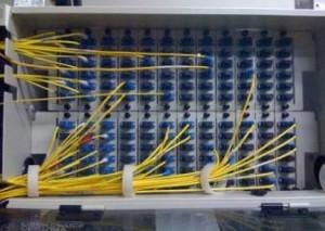 fibre optic terminal