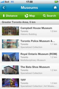 The app for Ontario museums.