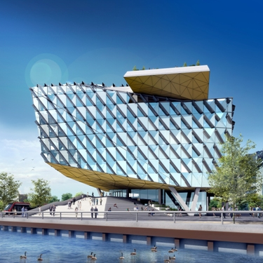 Plans for a new high-tech Innovation Centre are part of the knowledge-based economic community being developed along Toronto's waterfront.