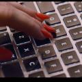 Finger Nails Keyboard