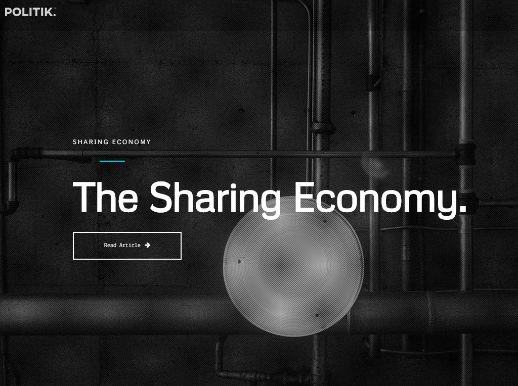 Conversations about the sharing economy are triggered by activities and events from a Canadian entrepreneur.
