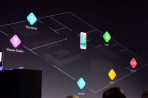 HomeKit allows the iPhone to serve as a mobile control panel for various home security and Internet of Things devices