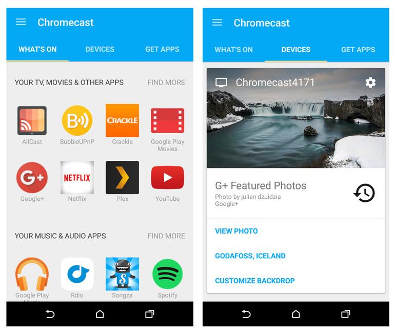 Chromecast-screens