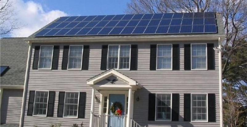 Solar panels bring a shade of 'green' to Ontario homes working with Panasonic Eco Solutions. Provided photo from Panasonic.
