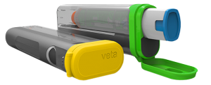 Aterica Digital Health Veta Smart Case for Epipen