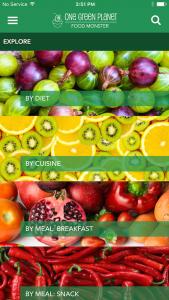 CP_green food monster app - screen shot