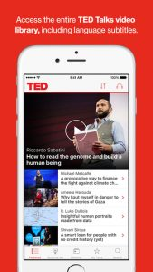 AApps_ted talk app