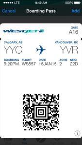 AApps_westjet boarding pass