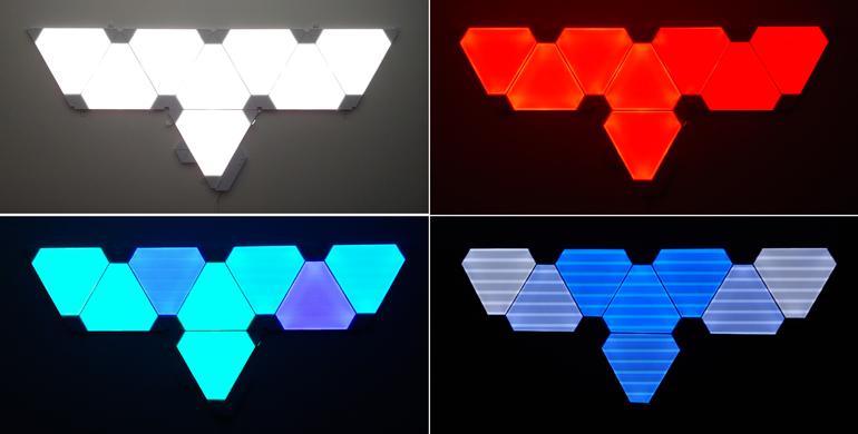Reviewing The Nanoleaf Aurora Led Light Panels Wyt