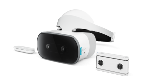 Lenono's virtual reality headset and accessories