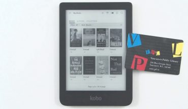 ebook reader pictured