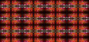 repeating reddish textured image