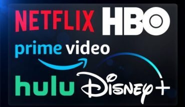 logos of major streaming media services