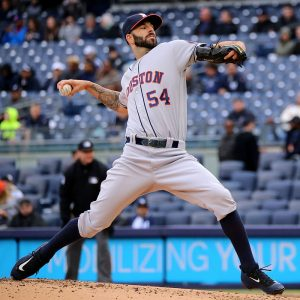 baseball player Mike Fiers