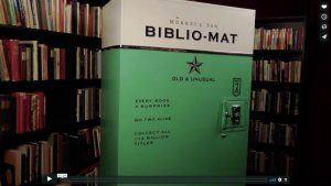 biblio-mat book vending machine