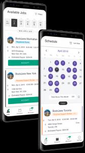 bookjane app on smartphone screen
