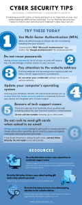 cyber security tip sheet