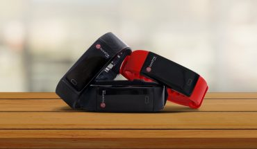 assortment of wrtistband trackers